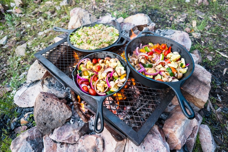 10 Easy Food  Recipes for family camping